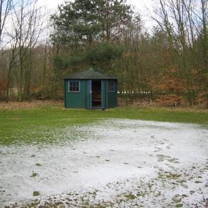 Golf Platz Vechta Welpe Wald-Hütten