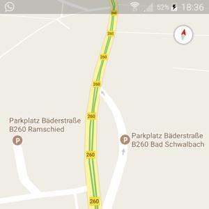 Wald Parkplatz B260 (Bäderstrasse)