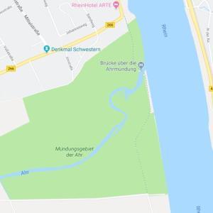 Sinzig am Rheinufer