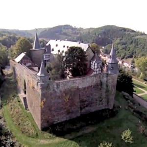 Parkplatz am Schloss Hohenlimburg