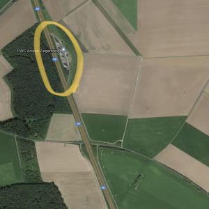 A36 Rastplatz Ziegenberg - Schladen Richtung BS
