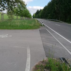 Annaberg - Buchholz B 95 Parkplatz