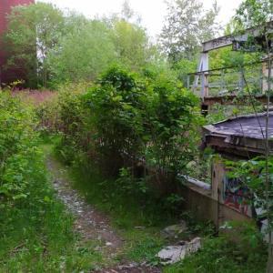 Industriebrache bei Poco in Altchemnitz