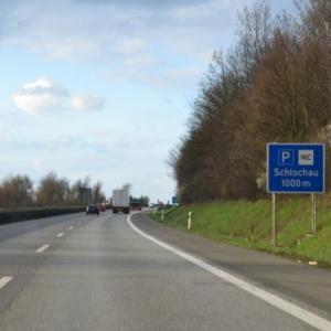 Parkplatz Schlochau Northeim A7