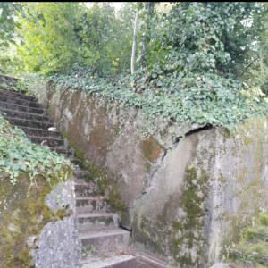 Treppe / Plattform Weinberg