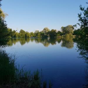 Parkplatz Teninger Baggersee oder am See