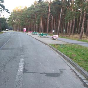 Parkplatz bei Seehausen Altmark