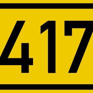B417 richtung limburg
