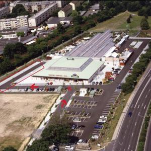 Parkplatz Dehner Hanau