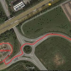 Mitfahrerparkplatz A60 Bingen Ost