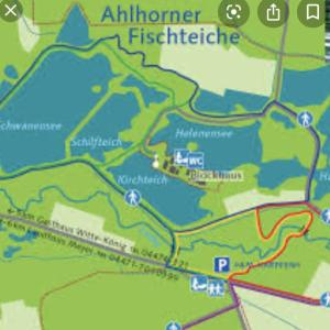 Waldparkplätze alhorner fischteiche