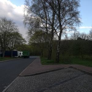 A 23 Parkplatz Forst Rantzau