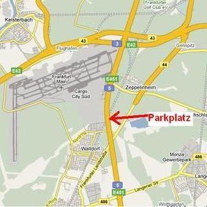 Rastplatz an der A5 - Heidelberg Richtung