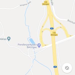 Pendlerparkplatz Autobahnausfahrt Betzigau