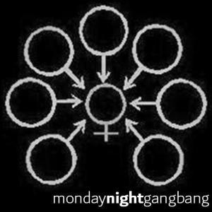 Monday night gangbang - vol. 1