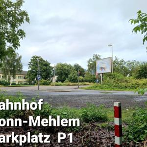 Bonn-Mehlem Bahnhof Parkplatz P1