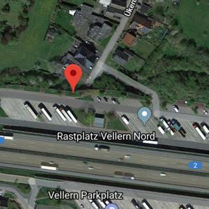 A2 Rastplatz Vellern Fahrtr. Dortmund