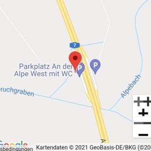 A 7 zwischen Laatzen und Drispenstedt richtung süd