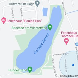 Kiess See Berumbur in Hage.
