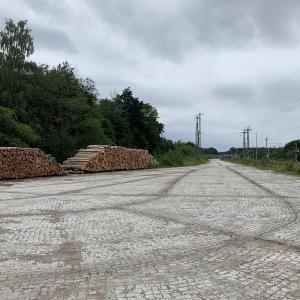 Waldparkplatz hinter Neustrelitz