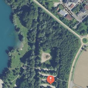 Parkplatz Rastatt Wintersdorf beim SÄMANN Kieswerk