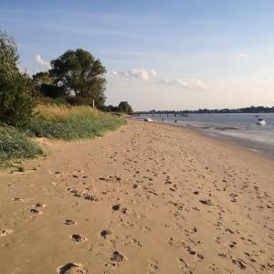 Strand auf Harriersand