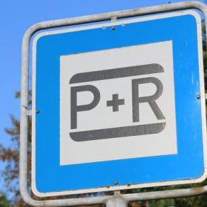 Park and Ride Parkplatz!