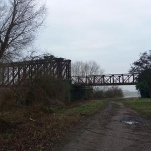 Griethausen Eisenbahnbrücke