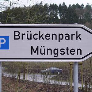 Neuer Parkplatz Brückenpark Müngsten