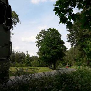 Rastplatz an der SAD1 Richtung Nittenau