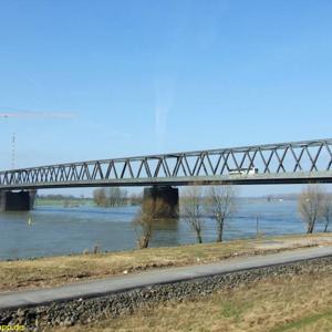 Alte rheinbrücke wesel