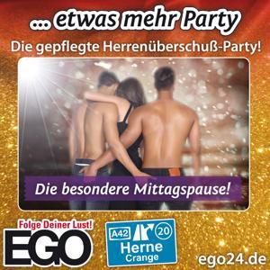 … etwas mehr Party / EGO Herne