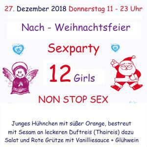 Mega NACH - WEIHNACHTSFEIER  SexParty