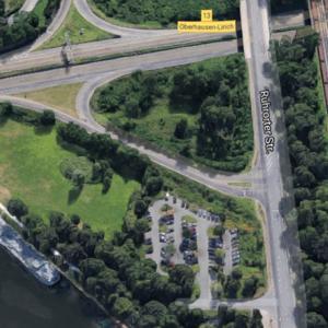 Mitfahrerparkplatz A3 Oberhausen-Lirich