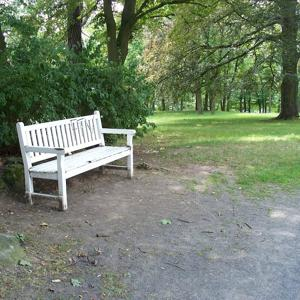 Parkanlage Aschrottpark Weiße Bank Plateau